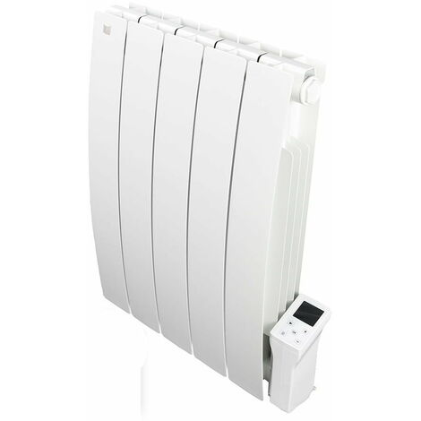 Forte WiFi Aluminum Oil Filled Electric Radiator + Timer, Wall Mounted