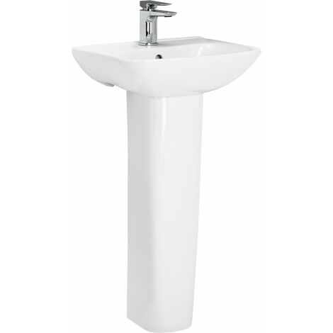 Forth 520mm Basin & Pedestal