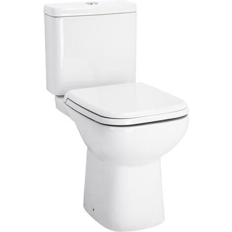 Forth Close Coupled Toilet with Soft Close Seat