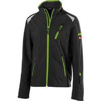 FORTIS Kids chaqueta 24, Schw./limegreen.Gr158-164