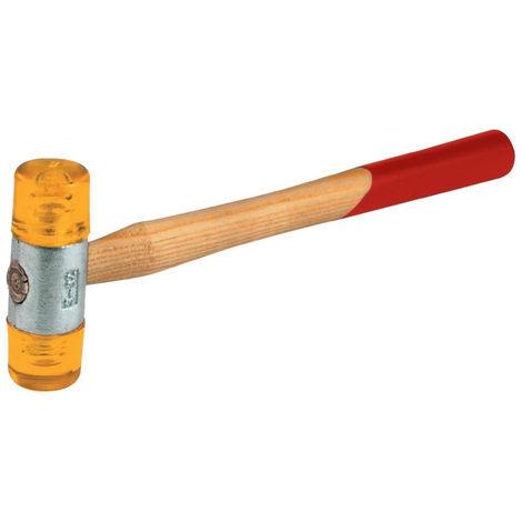 FORTIS Kunststoffhammer gelb 22 mm Gr. 1