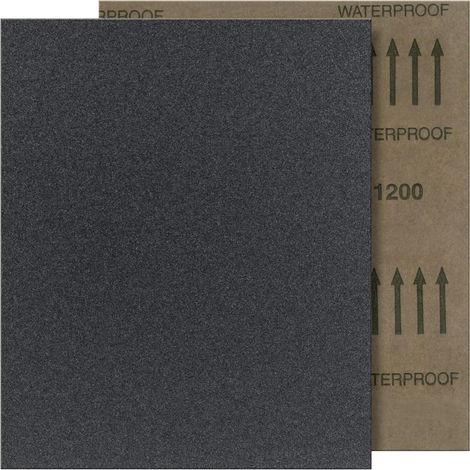 FORTIS Schleifpapier wasserfest 280x230mm SC K100