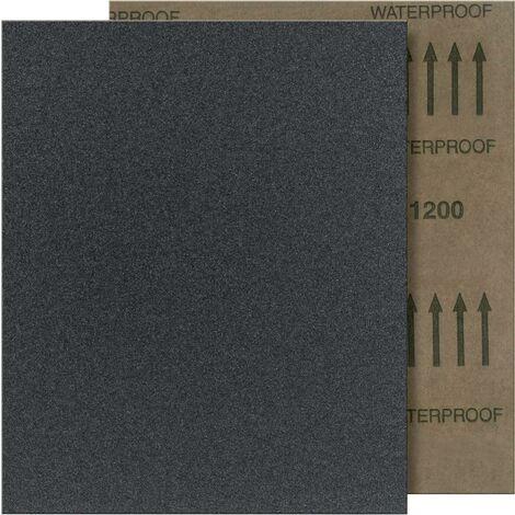 Fortis Schleifpapier wasserfest 280x230mm SC, K400