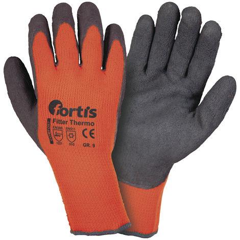 12x Fortis Handschuh Fitter S PU//Polyamid 7 Gr