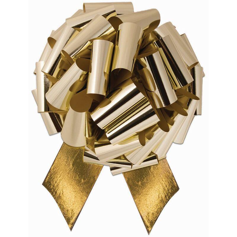 Image of Metallic Pull Bow (One Size) (Metallic Gold) - Forum Novelties