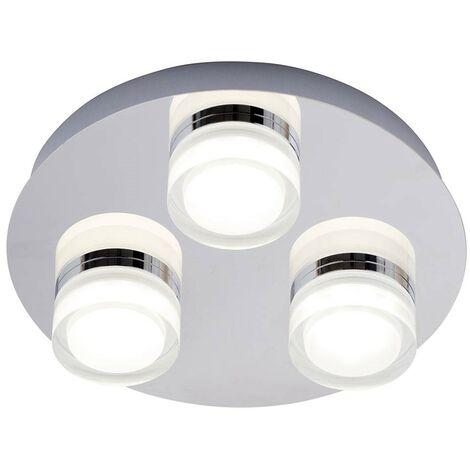 Forum Volana 3 light flush bathroom ceiling light