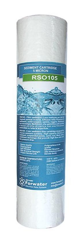 RSO105 Cartuccia Filtrante Sedimenti 5 mcr 10 Forwater