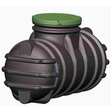 Fosa séptica soterrada 1000 litros, recomendada 1 a 3 personas
