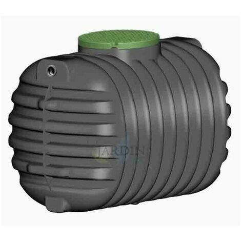 Fosa séptica soterrada 1600 litros, recomendada 2 a 4 personas