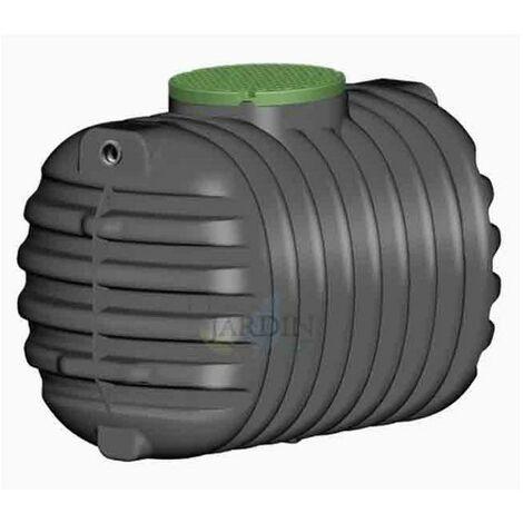 Fosa séptica soterrada 2200 litros, recomendada 3 a 5 personas