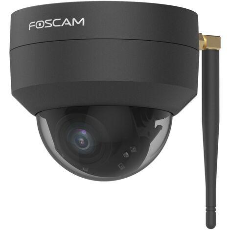 """main image of """"Foscam D4Z-B - Caméra IP Wi-Fi extérieure motorisée 4MP - Zoom optique x4 - Détection de mouvement intelligente - Noir"""""""