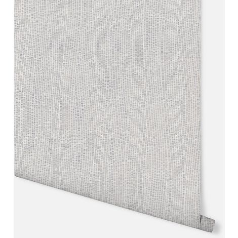 Fossil Silver Wallpaper - Arthouse - 902505