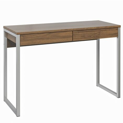 Fosy Desk 2 Drawers in Walnut