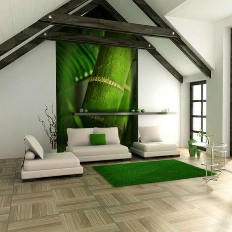 Fotomural bambú detalle