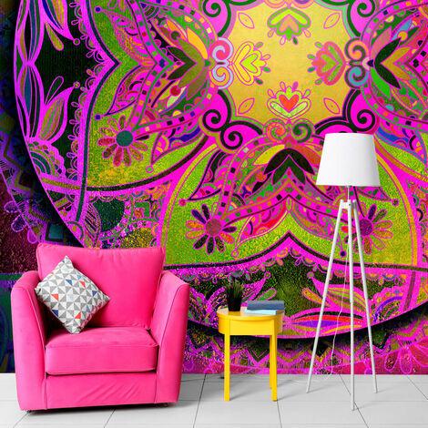 Fotomural - Mandala: Pink Expression