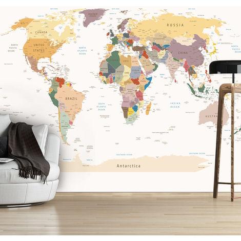 Fotomural - Mapa del mundo