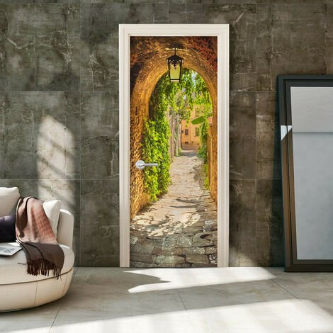 Fotomural para puerta - Alley in Italy