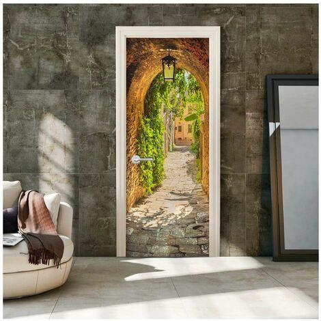 Fotomural para puerta - Alley in Italy