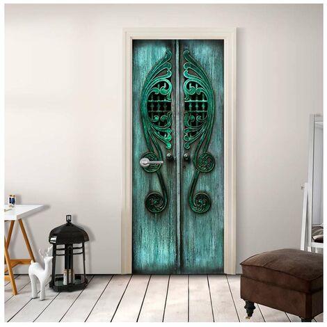 Fotomural para puerta - Emerald Gates