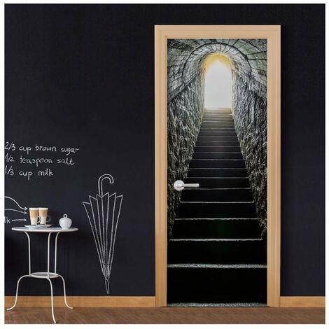 Fotomural para puerta - Secret Passage