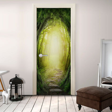Fotomural para puerta - The Forest of Fantasy