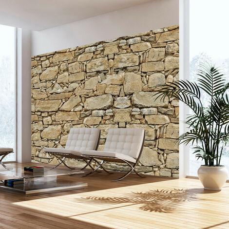Fotomural - Pared de piedra - 100x70