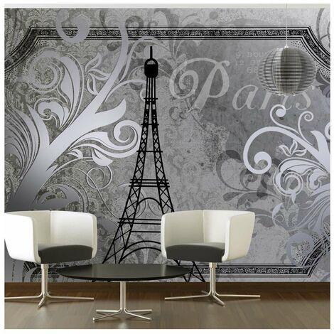 Fotomural Paris Vintage Plata Tamano 400x280 A1 4xlnew010409