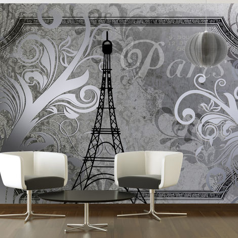 Fotomural Paris Vintage plata cm 150x105 Artgeist
