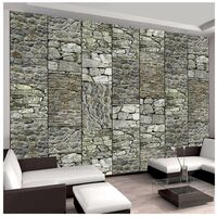 Fotomural - Piedras grises tamaño 50x1000