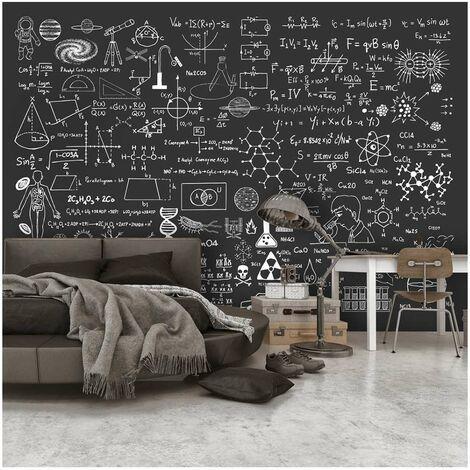 Fotomural - Science on Chalkboard