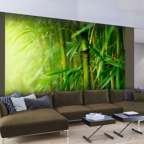 Fotomural selva bambú