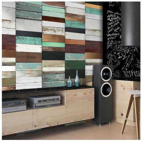 Fotomural - Sistema de madera tamaño 50x1000
