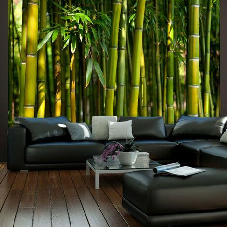 Fotomural Un bosque de bambú en Asia