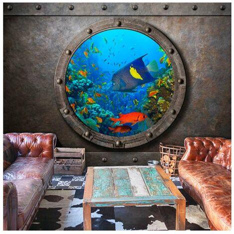 Fotomural - Ventana del submarino