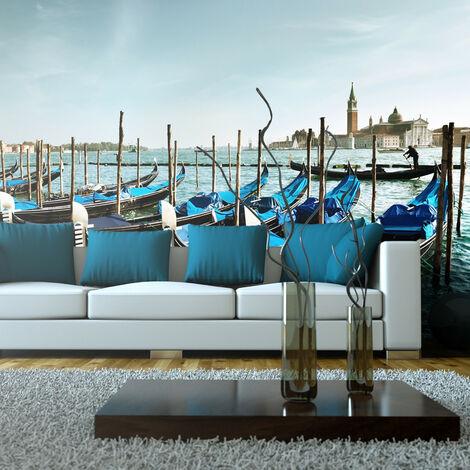 Fotomural XXL - Góndolas en Canal Grande en Venecia -