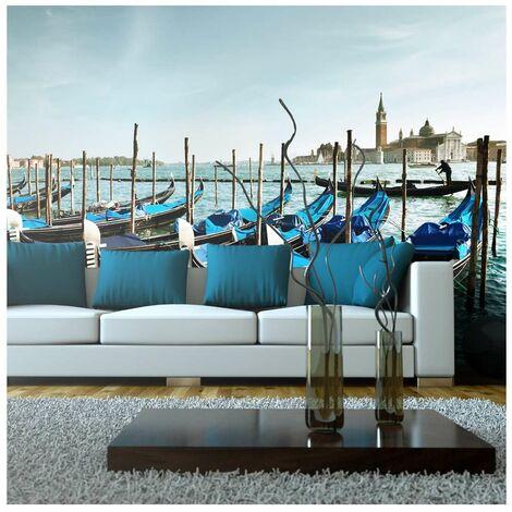 Fotomural XXL - Góndolas en Canal Grande en Venecia tamaño 550x270
