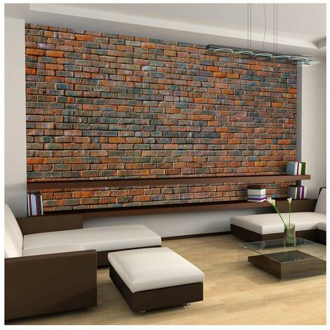 Fotomural XXL - Muro de ladrillo tamaño 550x270