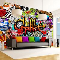 Fotomurale - Colorful Graffiti300x210 cm