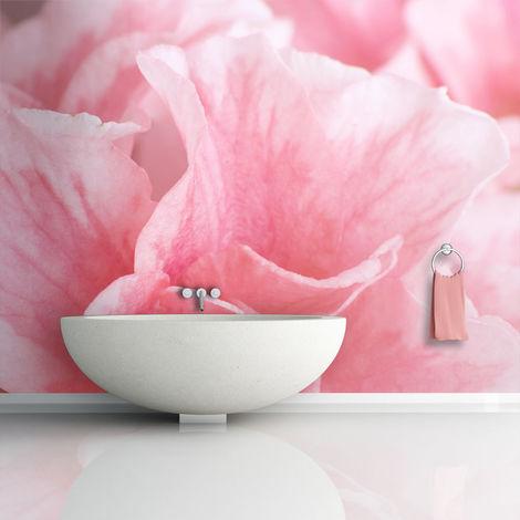 Fotomurale - Fiori d'azalea rosa