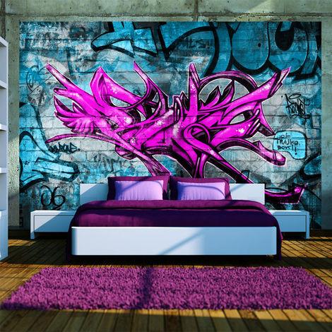 Fototapete Anonymous graffiti cm 250x175 Artgeist A1-XLNEW010111