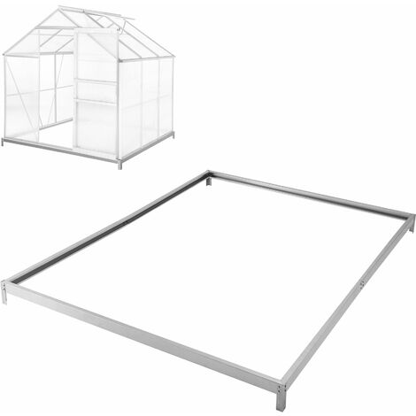 Foundation for greenhouse - greenhouse base, greenhouse foundation