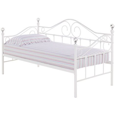 Fountain Day Bed White (Trundle sold separately)