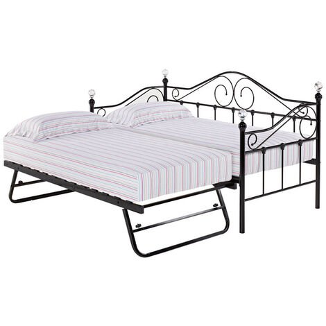 Fountain Trundle Black (bed sold separately)
