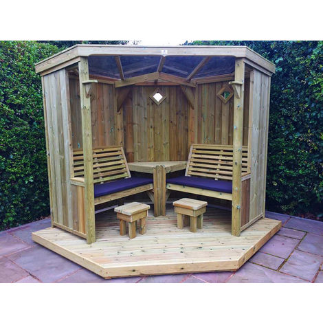 """main image of """"Four Seasons Garden Room - Installation included - decking optional – Assembly included"""""""