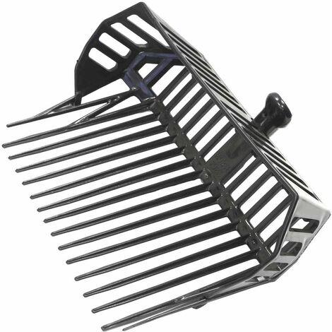 Fourche stable en plastique ABS antichoc avec panier fabriqué en Italie