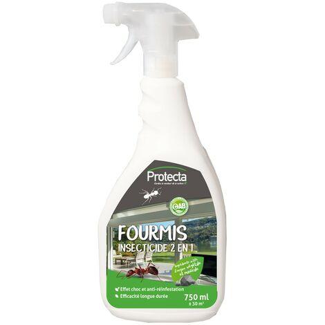 Fourmis Insecticide 2en1 pulvérisateur 750ml