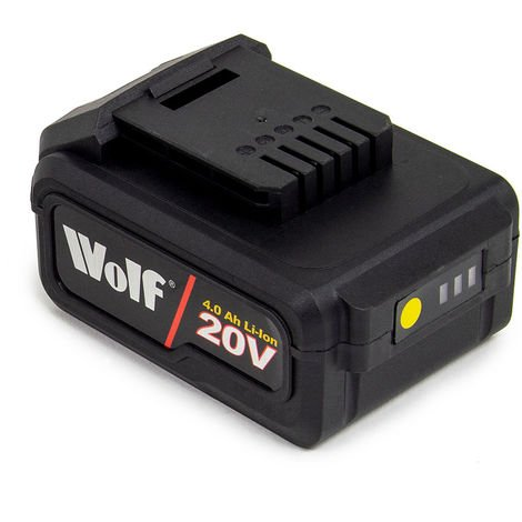 Fox 20V Li-Ion 4Ah Battery powered by Wolf