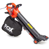 Fox 4 in 1 Telescopic Leaf Blower and Vacuum
