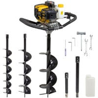 Fox 52cc Petrol Earth Auger with Extensions