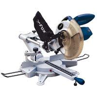 Fox - Scie à onglet radial 1800 W guidage laser lame Ø255mm - F36-255